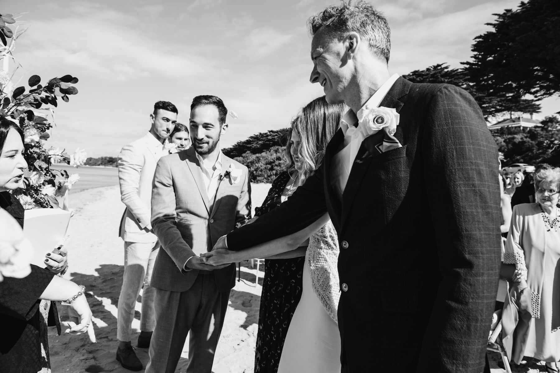 Olivia + Jarryd // The Baths Sorrento | Wedding Photography
