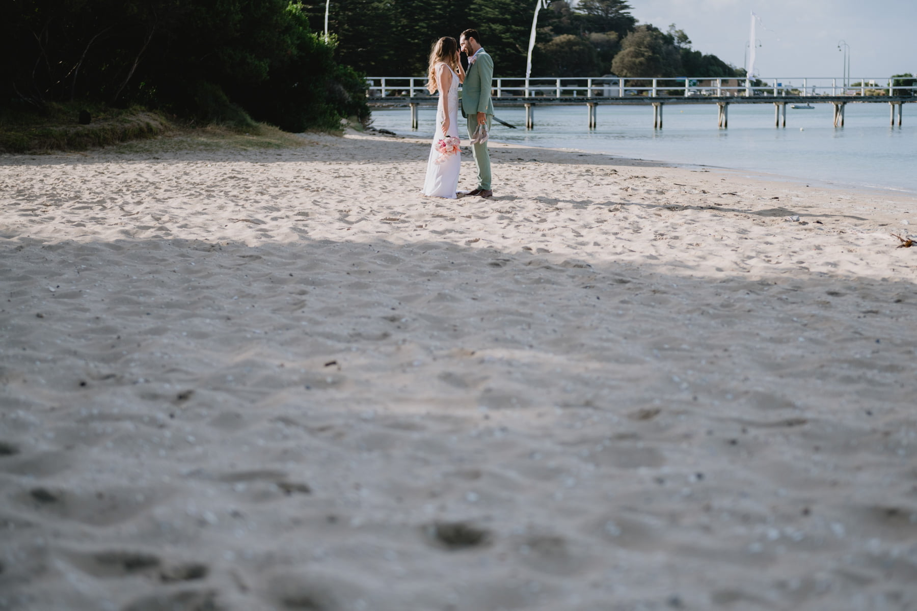 Olivia + Jarryd // The Baths Sorrento