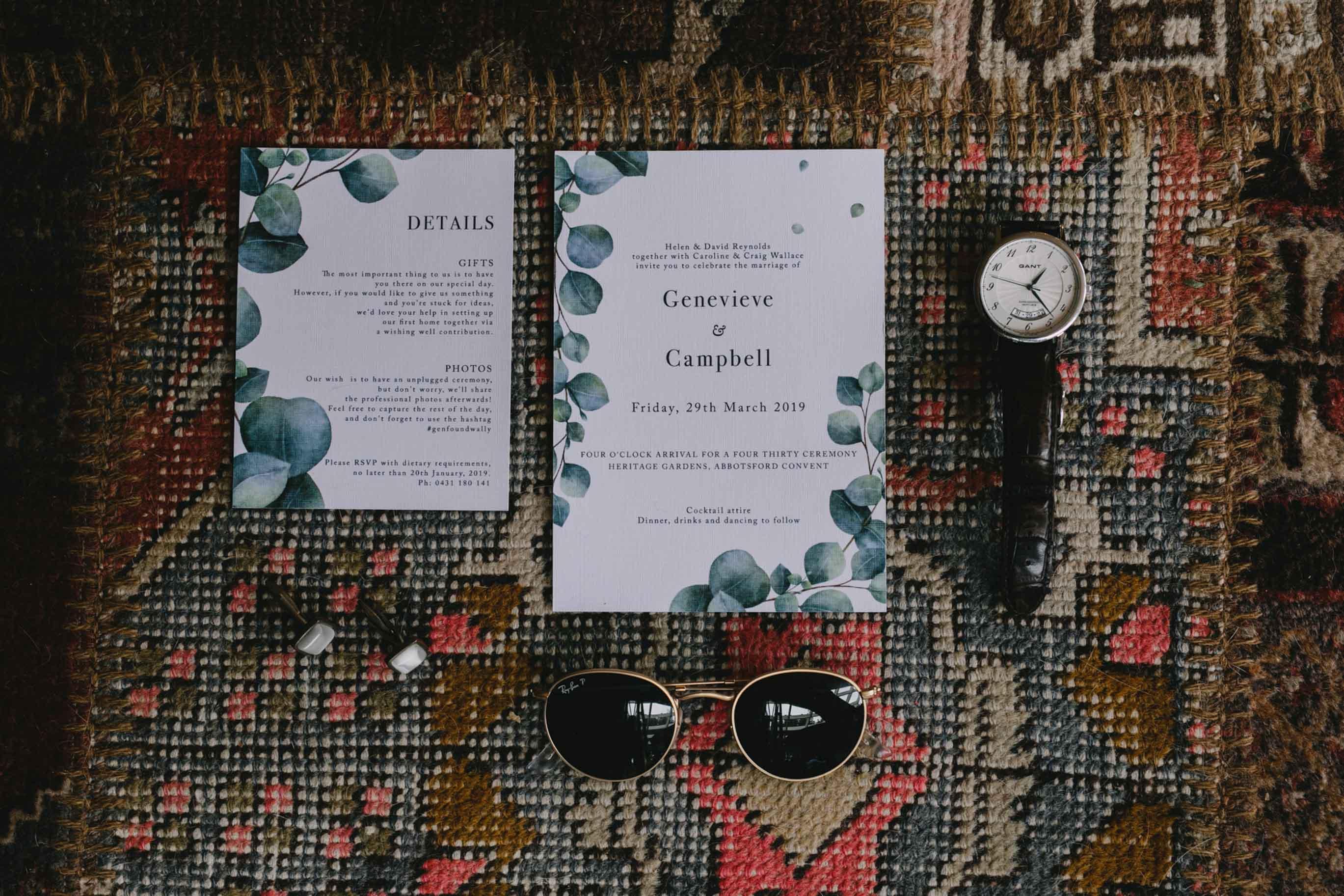 Genevieve + Cam // Abbotsford convent